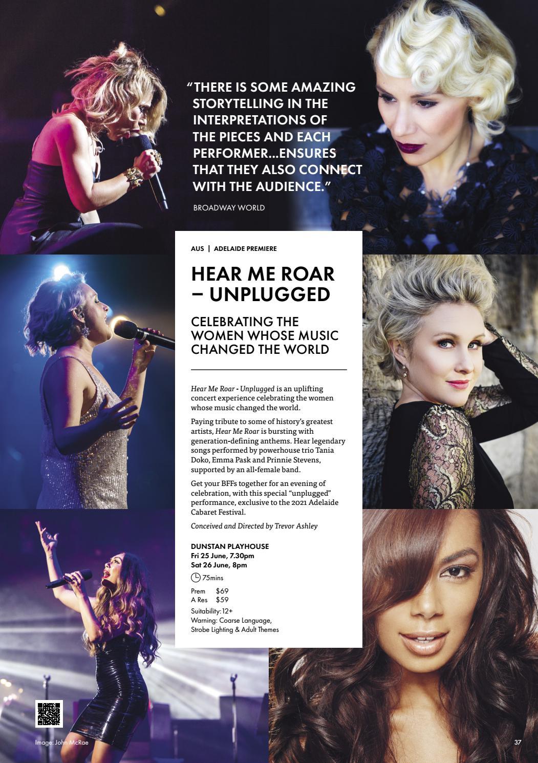 Adelaide Cabaret Festival 2021 Brochure page 37
