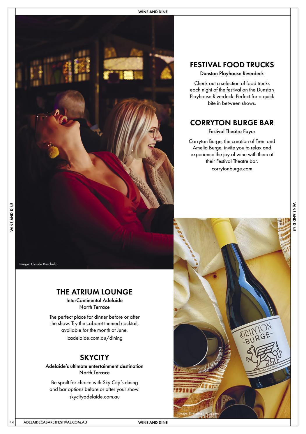 Adelaide Cabaret Festival 2021 Brochure page 44