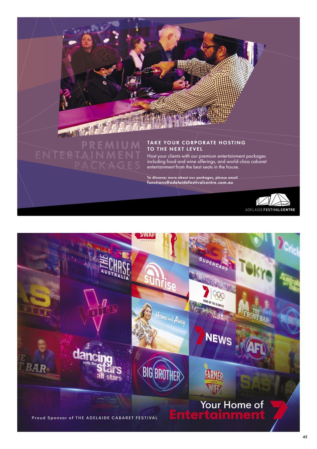 Adelaide Cabaret Festival 2021 Brochure page 45