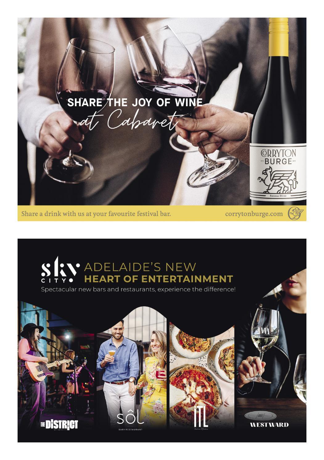 Adelaide Cabaret Festival 2021 Brochure page 50