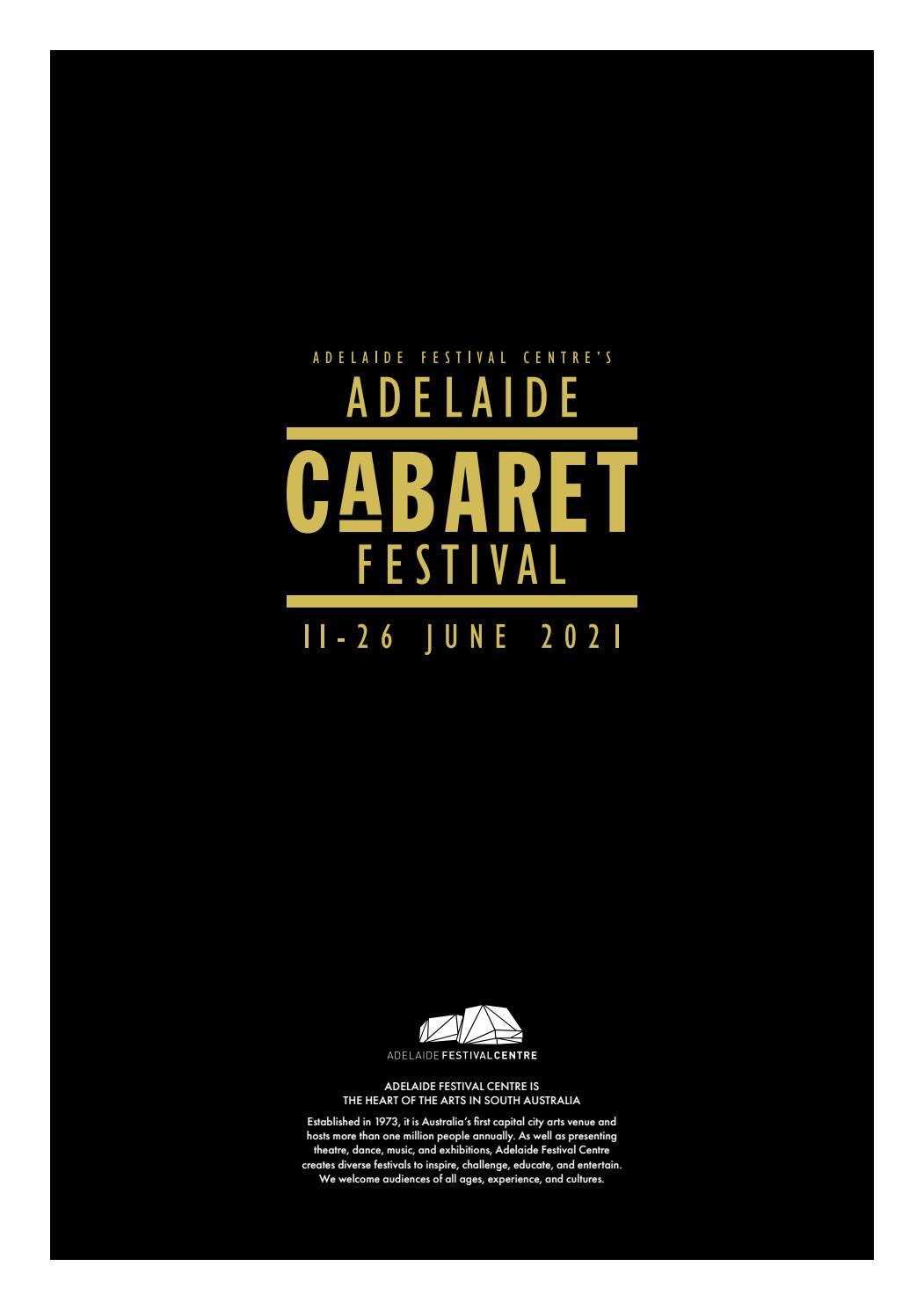 Adelaide Cabaret Festival 2021 Brochure page 60
