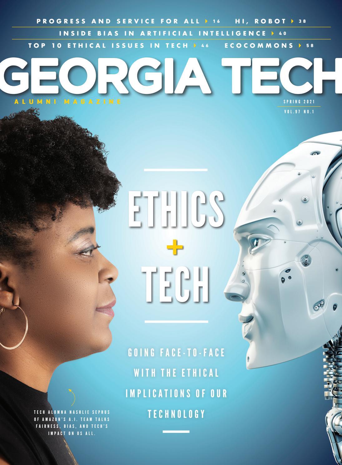 Georgia Tech Alumni Magazine, Vol. 97 No.1, Spring 2021 by Georgia ...