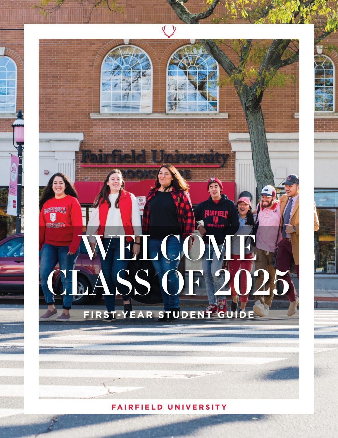 Fairfield University Academic Calendar 2022.New Student Guide Spring 2021 By Fairfield University Issuu
