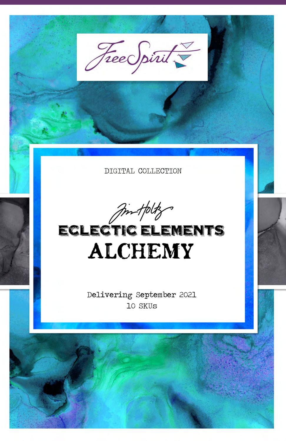 FreeSpirit PWTH115.8sepi Tim Holtz Eclectic Elements Sepia Provisions