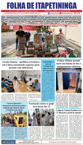 Folha de Itapetininga 10/04/2021 (Sabado)