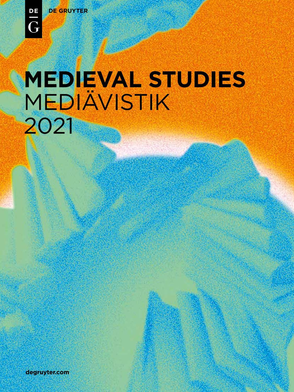 Medieval Studies 20   De Gruyter by De Gruyter   issuu