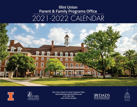 Academic Calendar Uiuc Fall 2022.2021 2022 University Of Illinois Parent And Family Programs Calendar By Illini Union Issuu