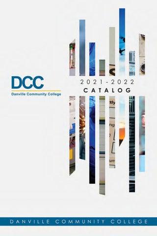 Odu Academic Calendar 2022.Dcc Catalog 2021 2022 By Danville Community College Issuu