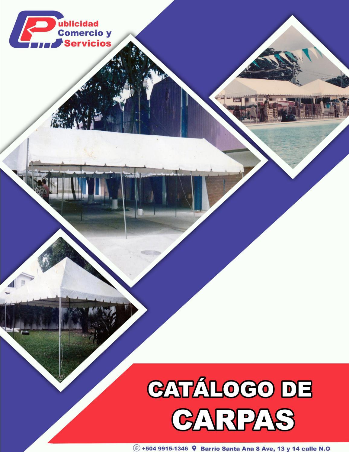 Catálogo de Carpas. by Juan Alvarado - issuu