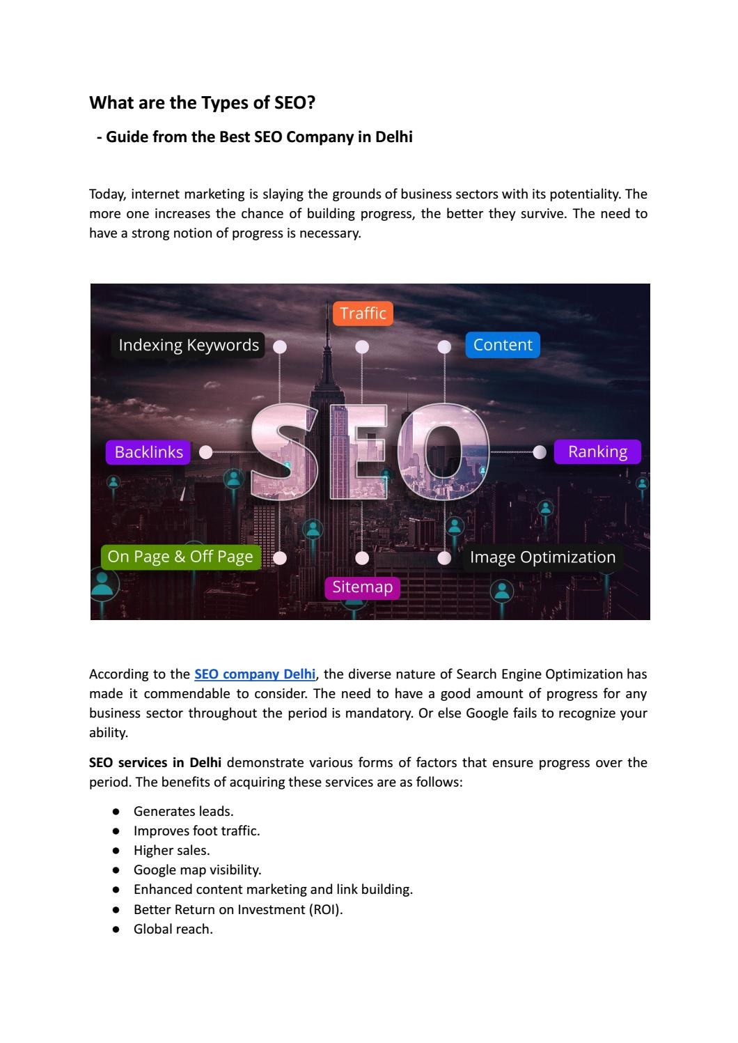 What are the Types of SEO?