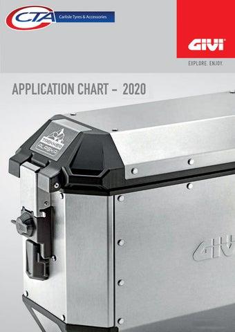 "Cover of ""CTA - GIVI APPLICATION BOOK 2021"""