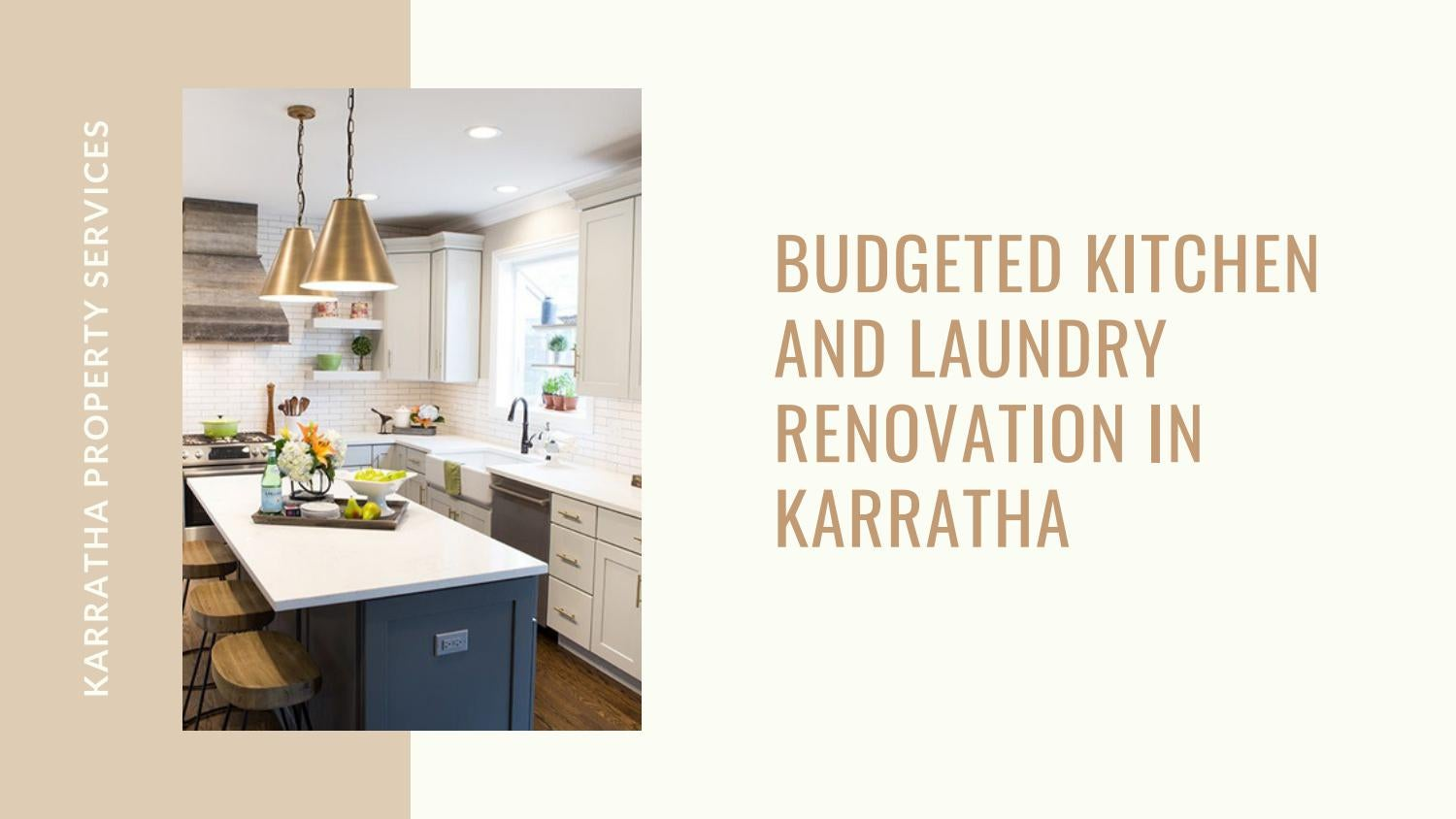 Budgeted Kitchen and Laundry Renovation in Karratha