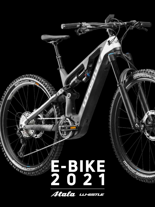 Catalogo Atala e Whistle e-bike 2021