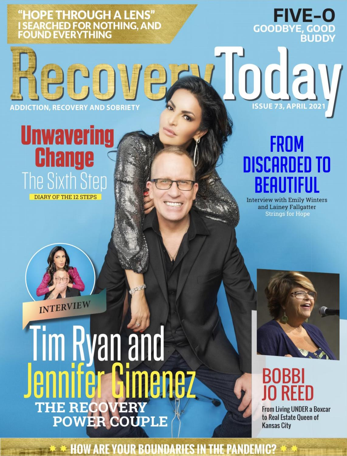 Recovery Today: Tim Ryan and Jennifer Gimenez  - the Recovery Power Couple