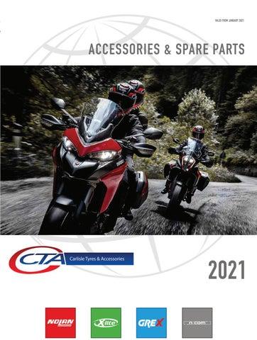 "Cover of ""CTA - NOLAN/X-LITE SPARES CATALOGUE 2021"""