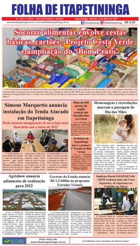 Folha de Itapetininga 08/05/2021 (Sabado)