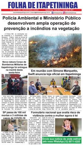 Folha de Itapetininga 11/05/2021 (Terca-feira)