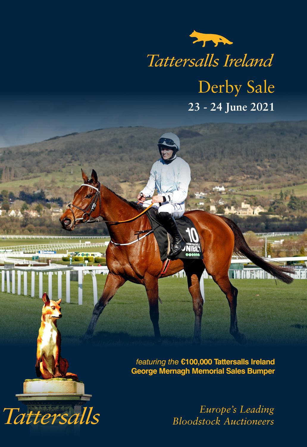 Tattersalls Ireland Derby Sale Catalogue 8 by Tattersalls ...