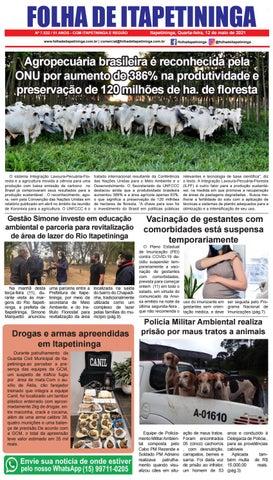 Folha de Itapetininga 12/05/2021 (Quarta-feira)
