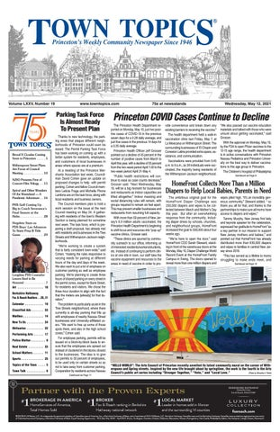 Rutgers Academic Calendar 2022 23 New Brunswick.Town Topics Newspaper May 12 2021 By Witherspoon Media Group Issuu