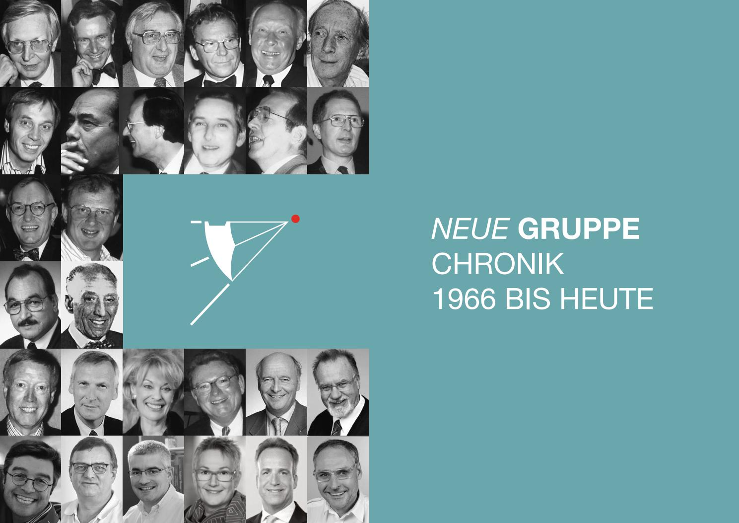 Die Chronik 50 Jahre Neue Gruppe By Neue Gruppe Issuu