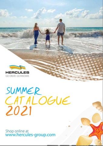 Hercules Group. Κατάλογος «Summer Catalogue 2021»