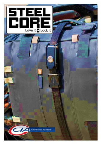 """Cover of """"CTA 2021 STEELCORE CATALOGUE"""""""