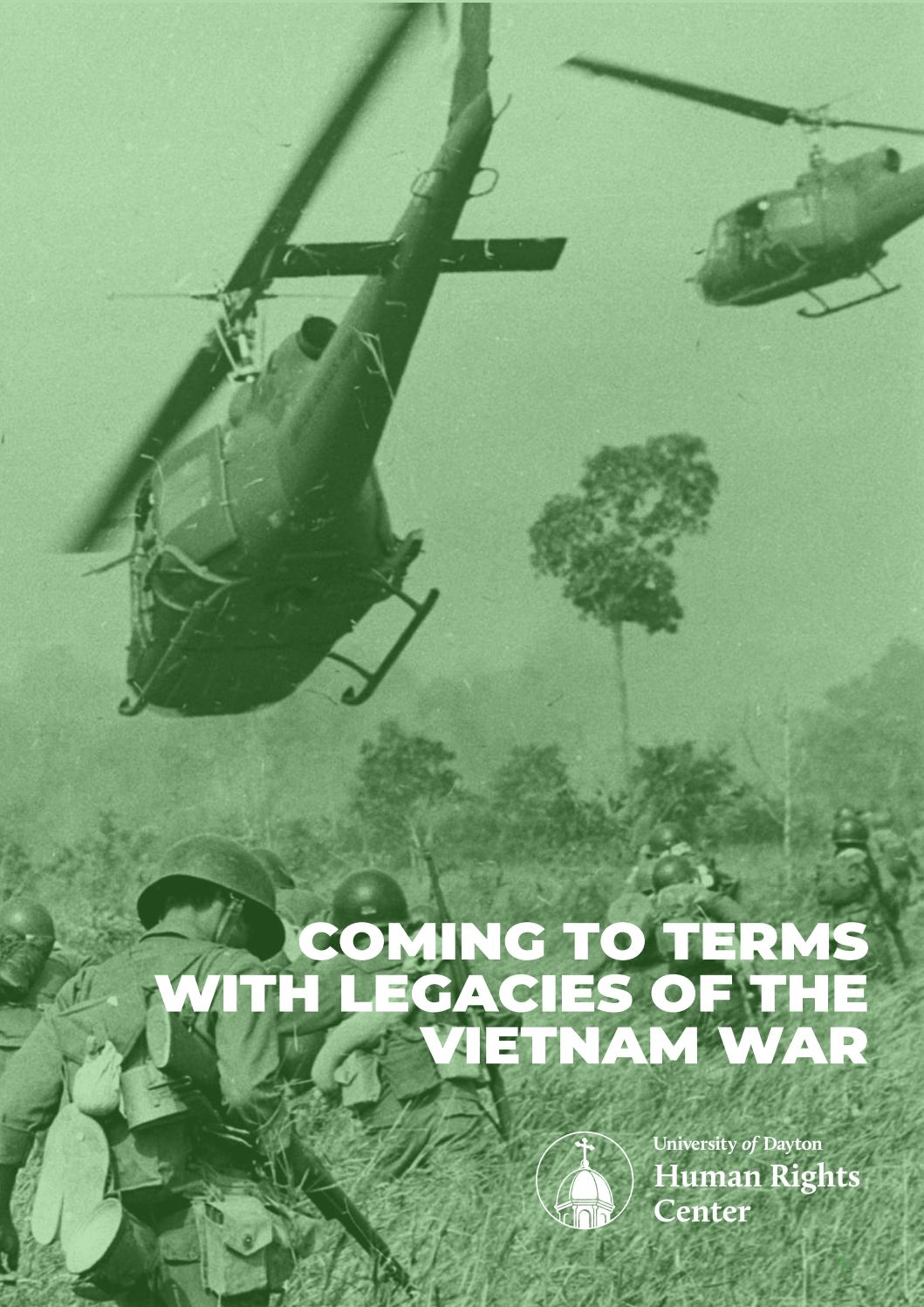 Coming To Terms With Legacies Of The Vietnam War By Udhumanrights Issuu