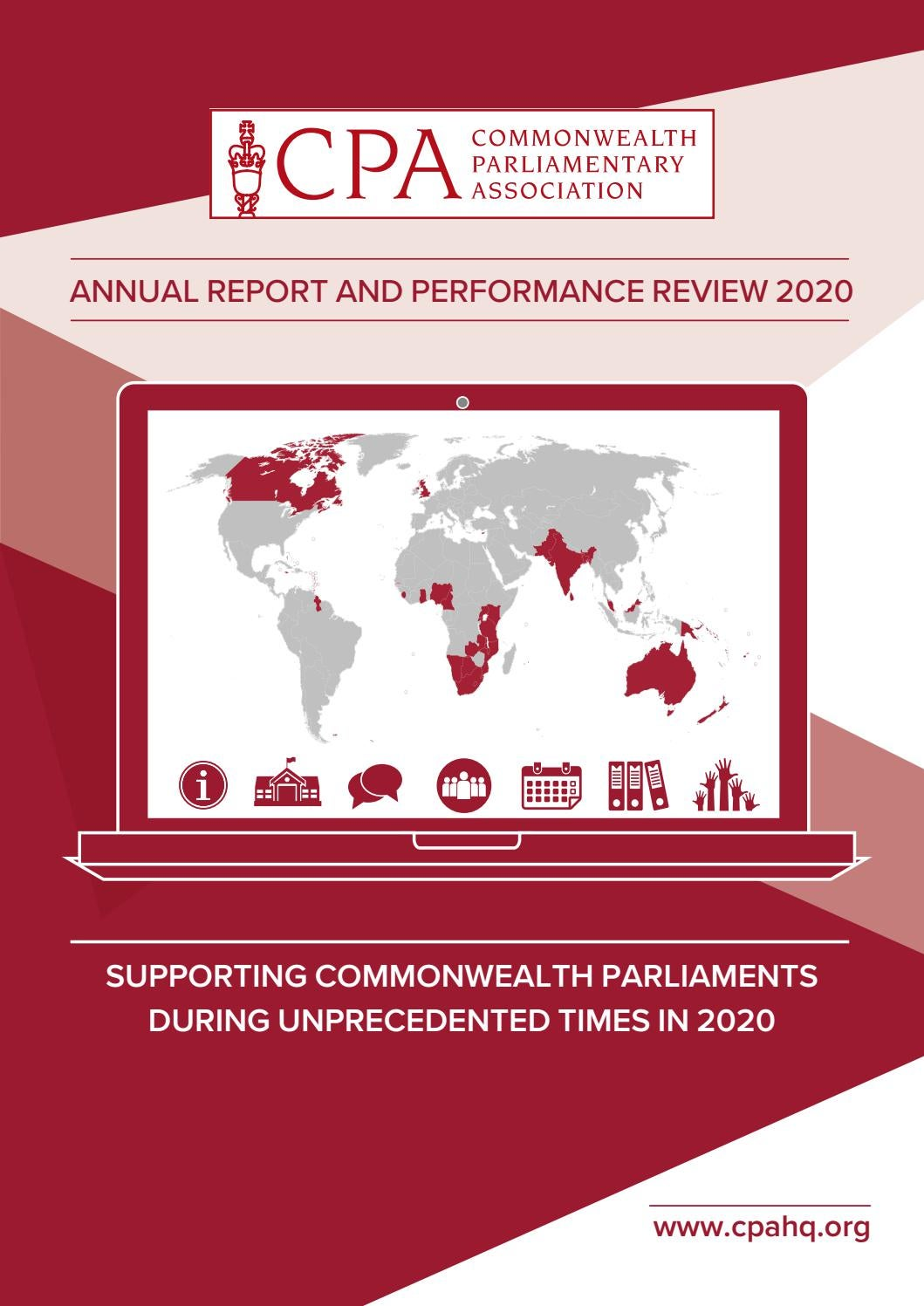 Cpa 2020 Annual Report And Performance Review By The Parliamentarian Issuu