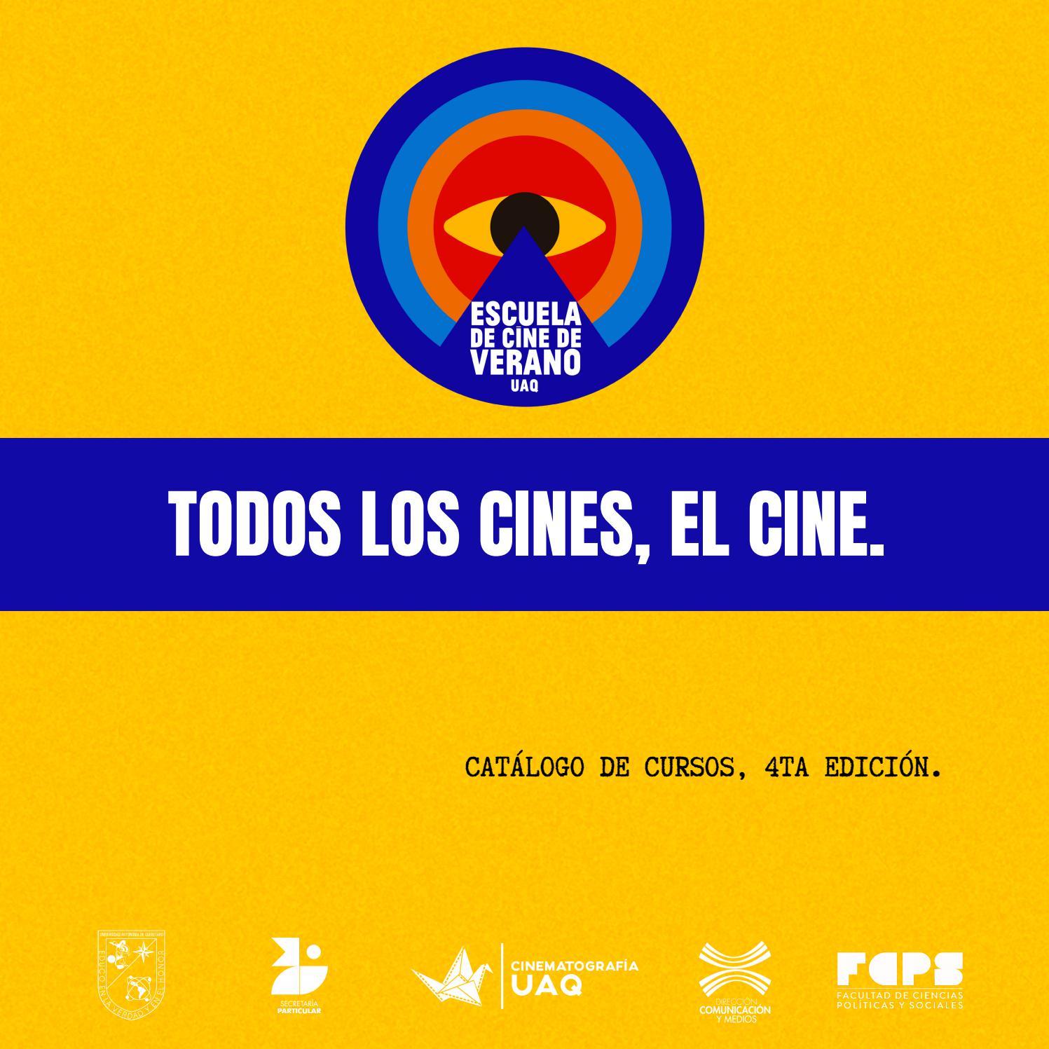 Catalogo Escuela De Cine De Verano De La Uaq 2021 By Cinematografia Uaq Issuu
