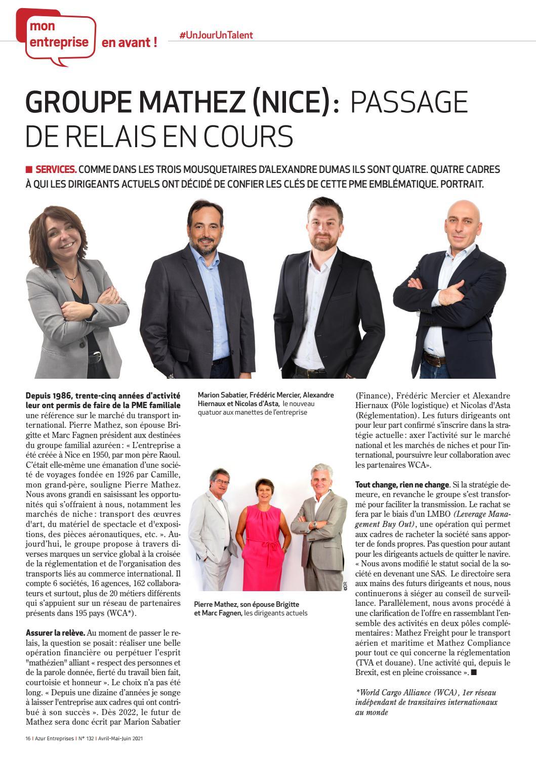 Azur entreprises N°132