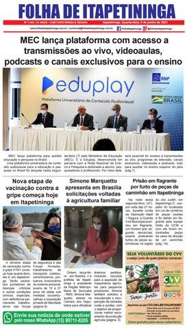 Folha de Itapetininga 26/05/2021 (Quarta-feira)