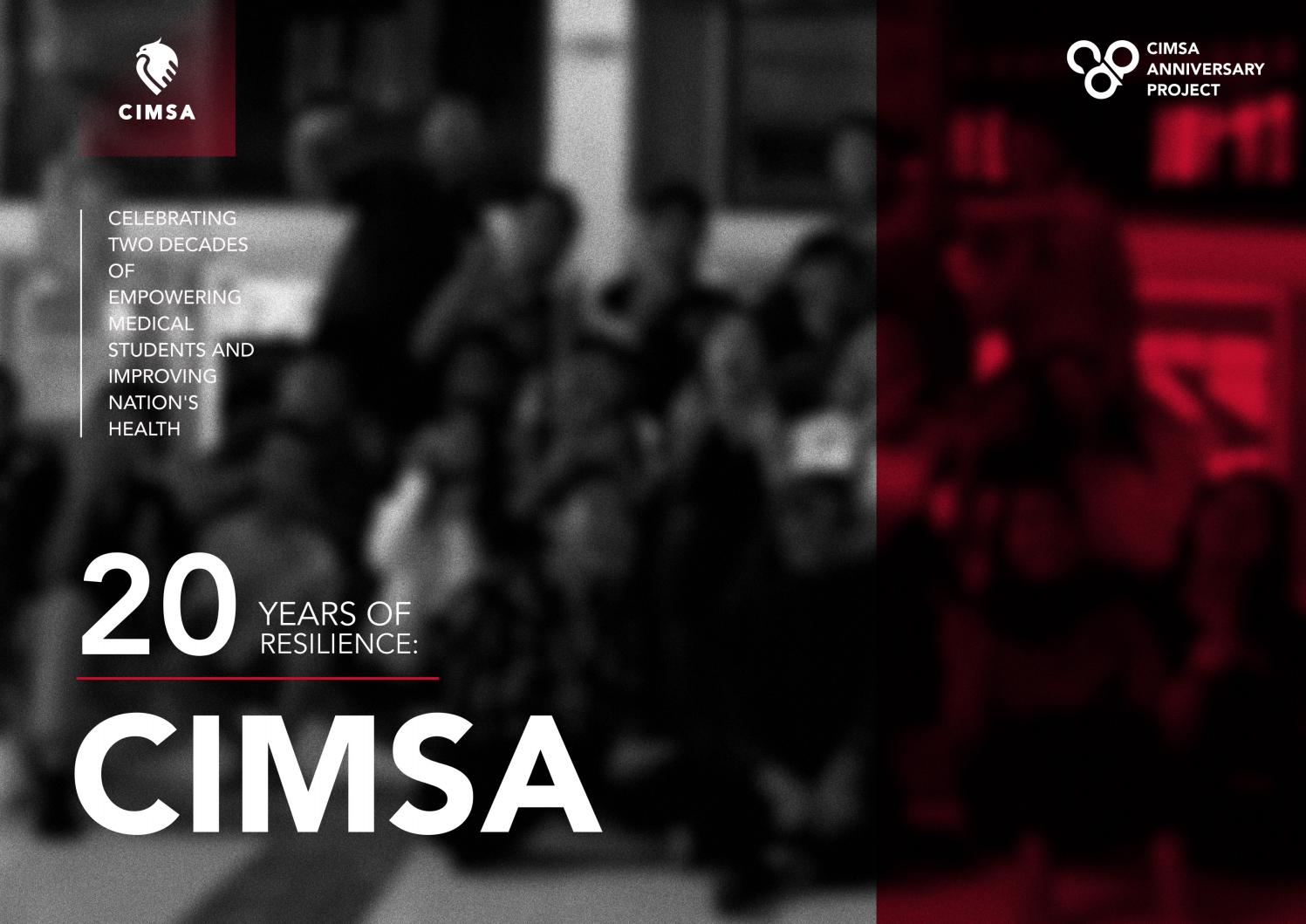 CIMSA COMMEMORATIVE BOOK: 20TH YEARS OF RESILIENCE page 1