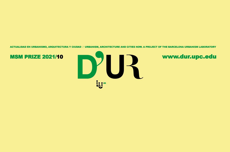 The Third Manuel De Sola Morales European Prize 2021 By D Ur Revista Issuu