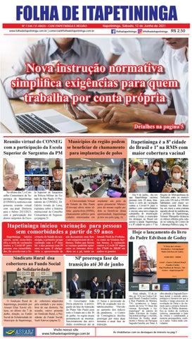 Folha de Itapetininga 12/06/2021 (Sabado)