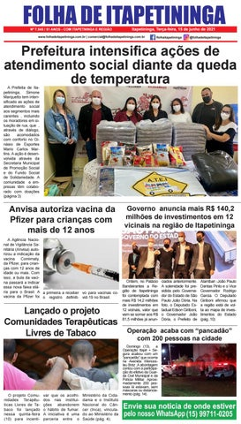 Folha de Itapetininga 15/06/2021 (Terca-feira)