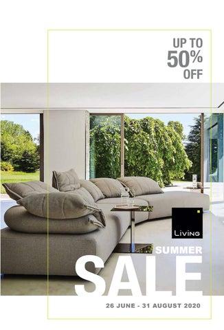 Living Cyprus. Κατάλογος Summer Sales 2021 με προσφορές σε έπιπλα