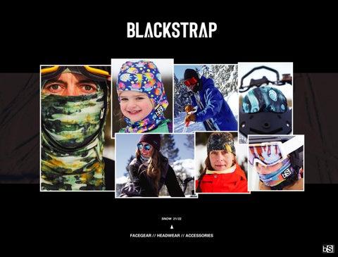 BlackStrap Goggle Cover for Protecting Ski Snowboard Goggle Lenses Dark Matter