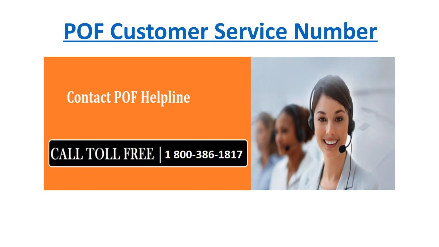 Plenty Of Fish (1-800-386-1817) Customer Service Phone