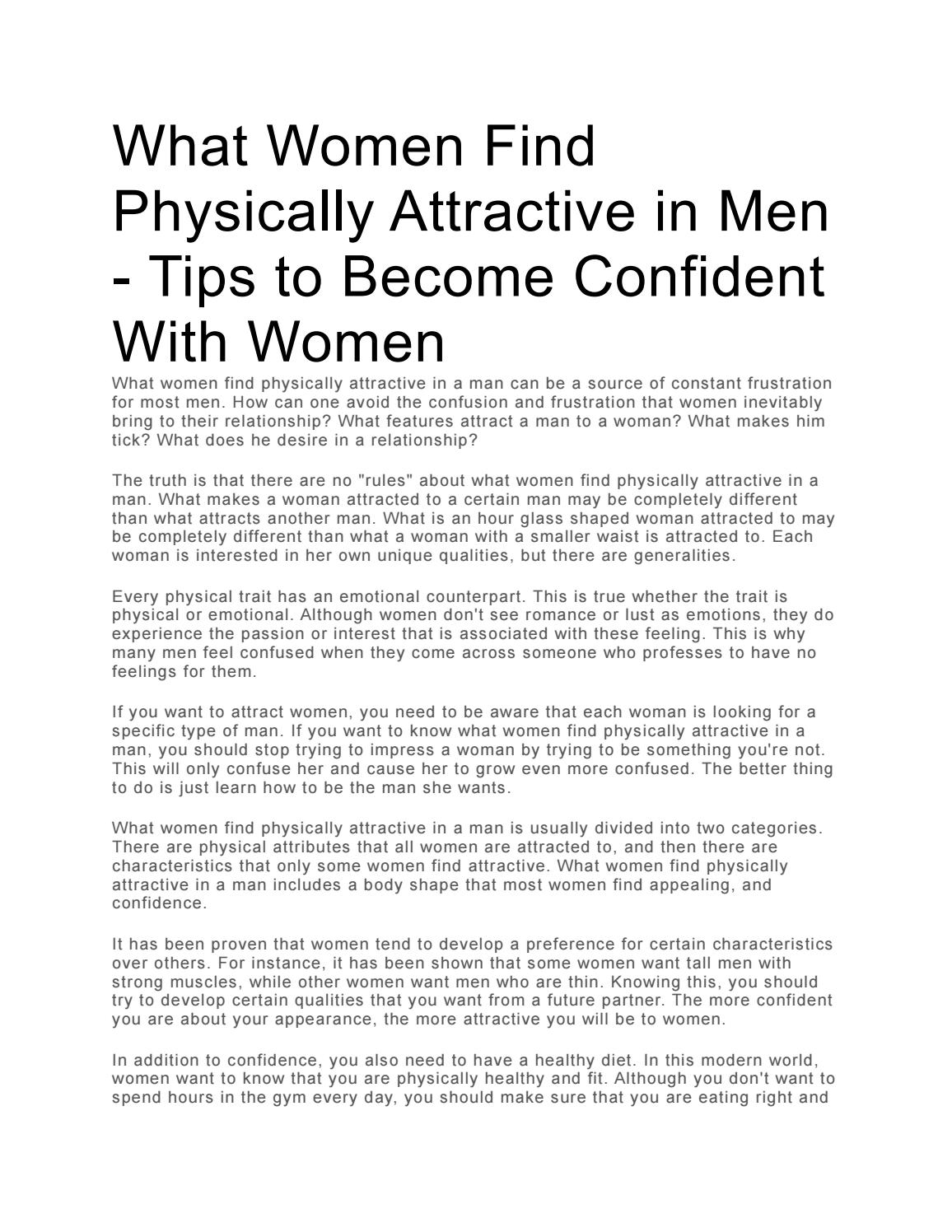 Man attract how woman can a How To