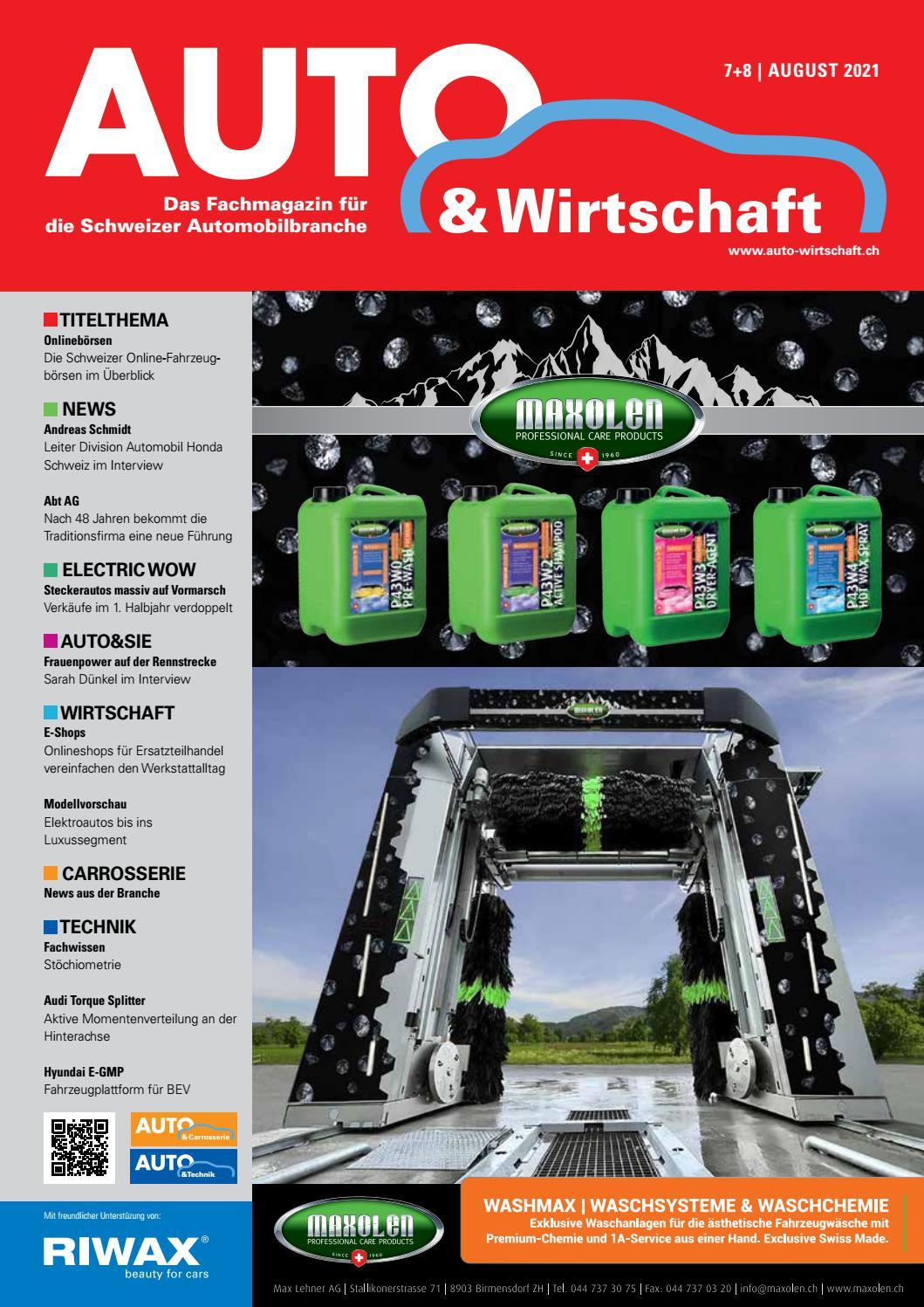AUTO&Wirtschaft Ausgabe 20/20 by A&W Verlag AG   issuu