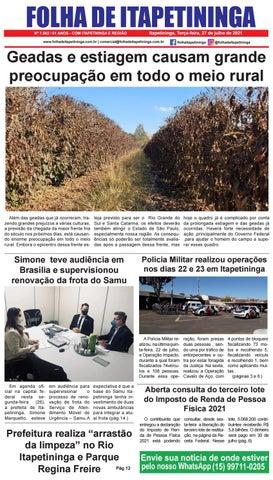 Folha de Itapetininga 27/07/2021 (Terca-feira)