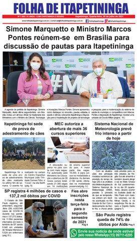 Folha de Itapetininga 28/07/2021 (Quarta-feira)