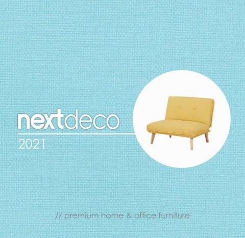 Next SA. Κατάλογος «Nextdeco 2021» με έπιπλα για το σπίτι & το γραφείο
