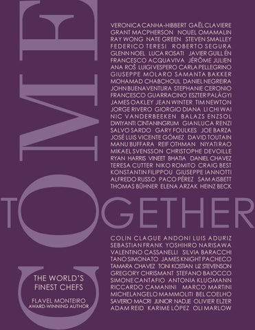 COME TOGETHER - THE WORLD'S FINEST CHEFS