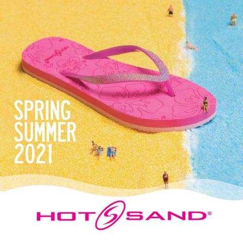 IFA Europe CY. Κατάλογος Hot Sand με παντόφλες για καλοκαίρι