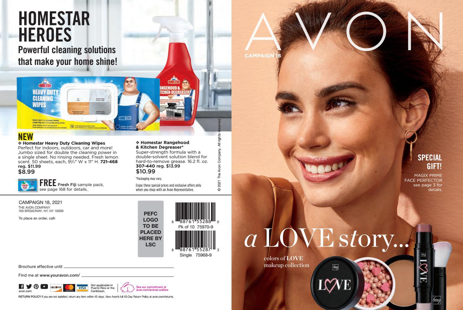 Avon Campaign 18, 18 Brochure by Irene Eklund   issuu