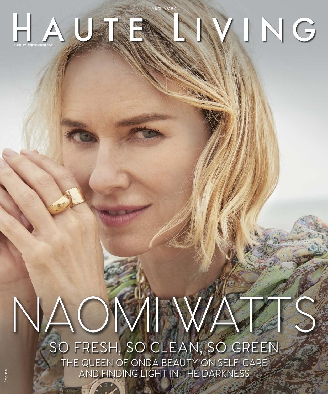 New York, August / September 20, NAOMI WATTS by Haute ...