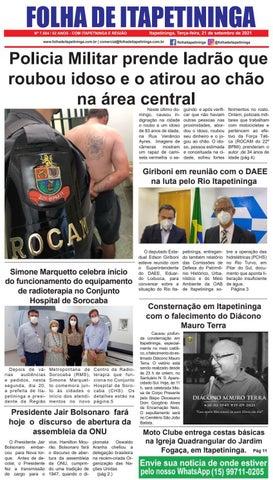 Folha de Itapetininga 21/09/2021 (Terca-feira)
