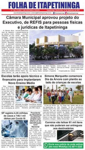 Folha de Itapetininga 22/09/2021 (Quarta-feira)